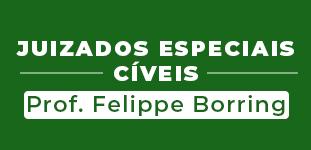Juizados Especiais Cíveis - Prof. Felippe Borring Rocha